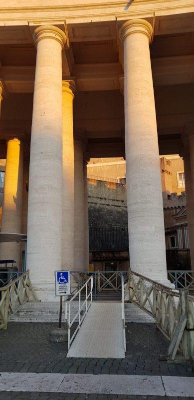 Location de fauteuil roulant à Rome