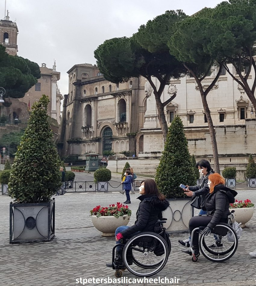 Wheelchairs for rent in Rome