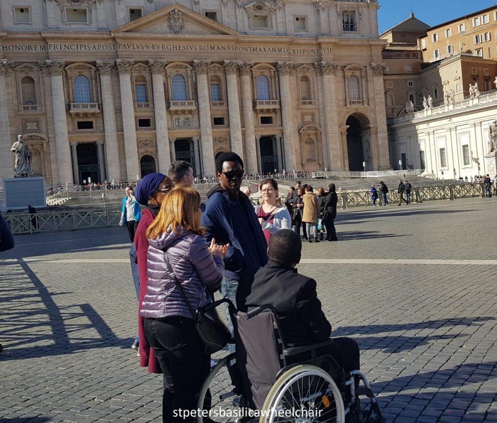 Wheelchair tour in Rome
