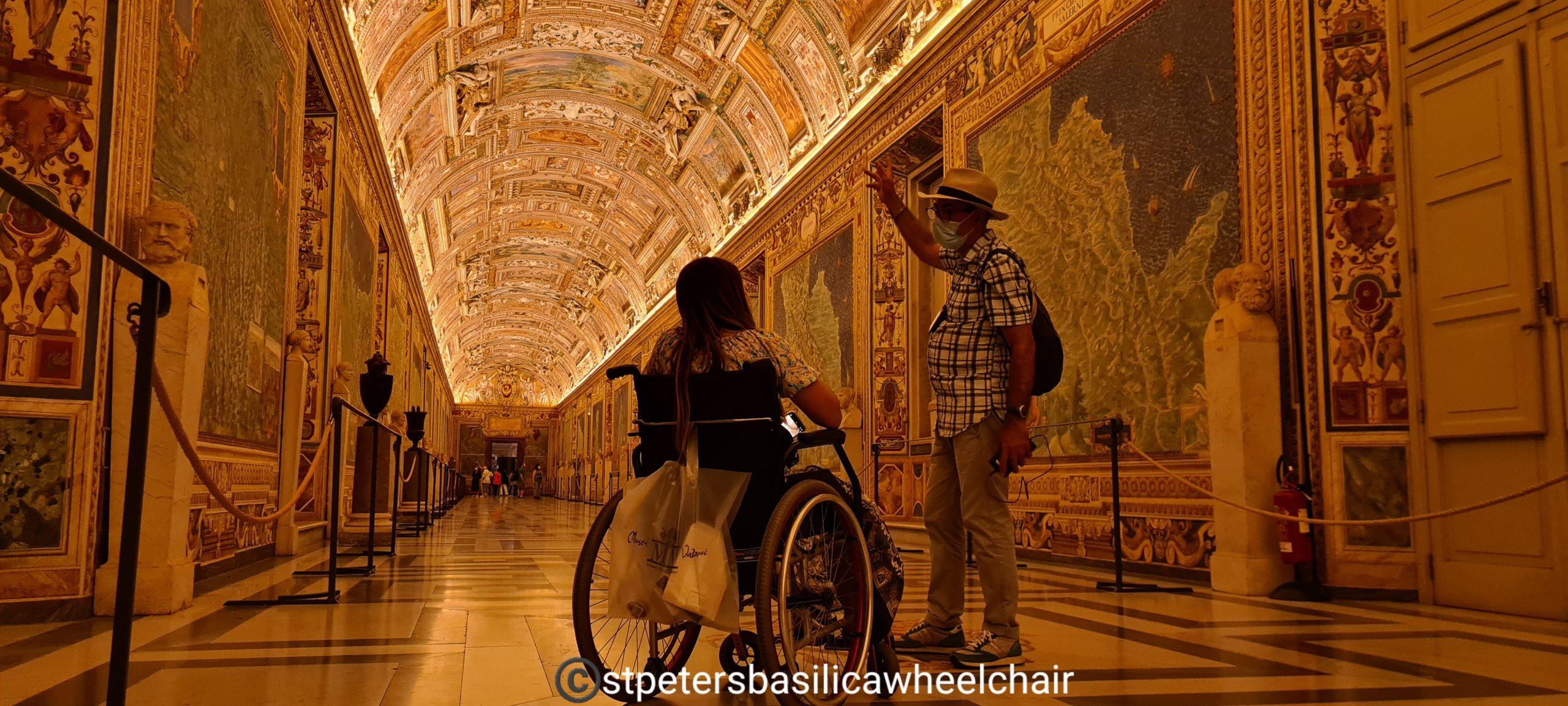 visite en fauteuil roulant